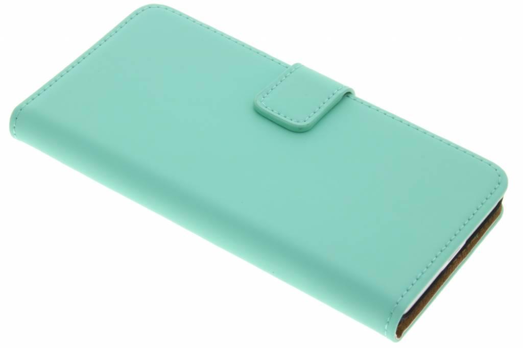 Selencia Luxe Book Case voor de Microsoft Lumia 650 - Mintgroen