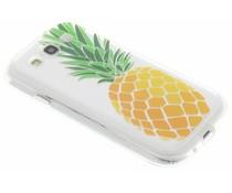 Transparant fruit design TPU hoesje Samsung Galaxy S3