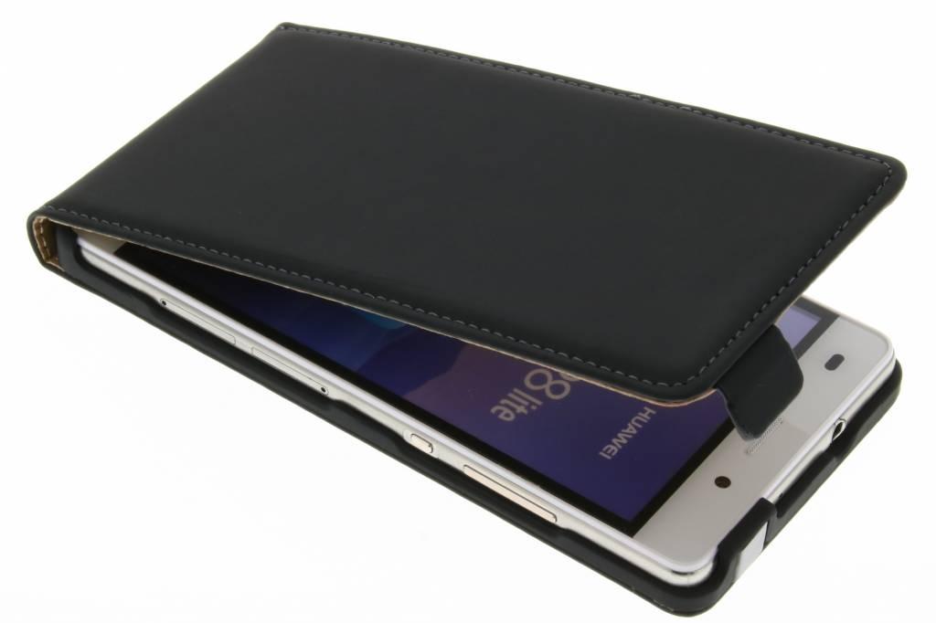 Mobiparts Premium Flipcase voor de Huawei P8 Lite - Black