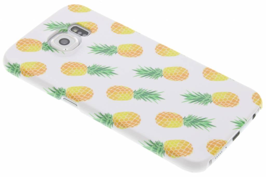 Ananas design hardcase hoesje voor de Samsung Galaxy S6