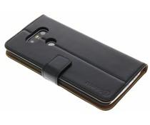 Selencia Luxe Lederen Booktype LG G5 - Zwart