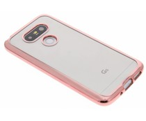 Rosé TPU hoesje met metallic rand LG G5 (SE)
