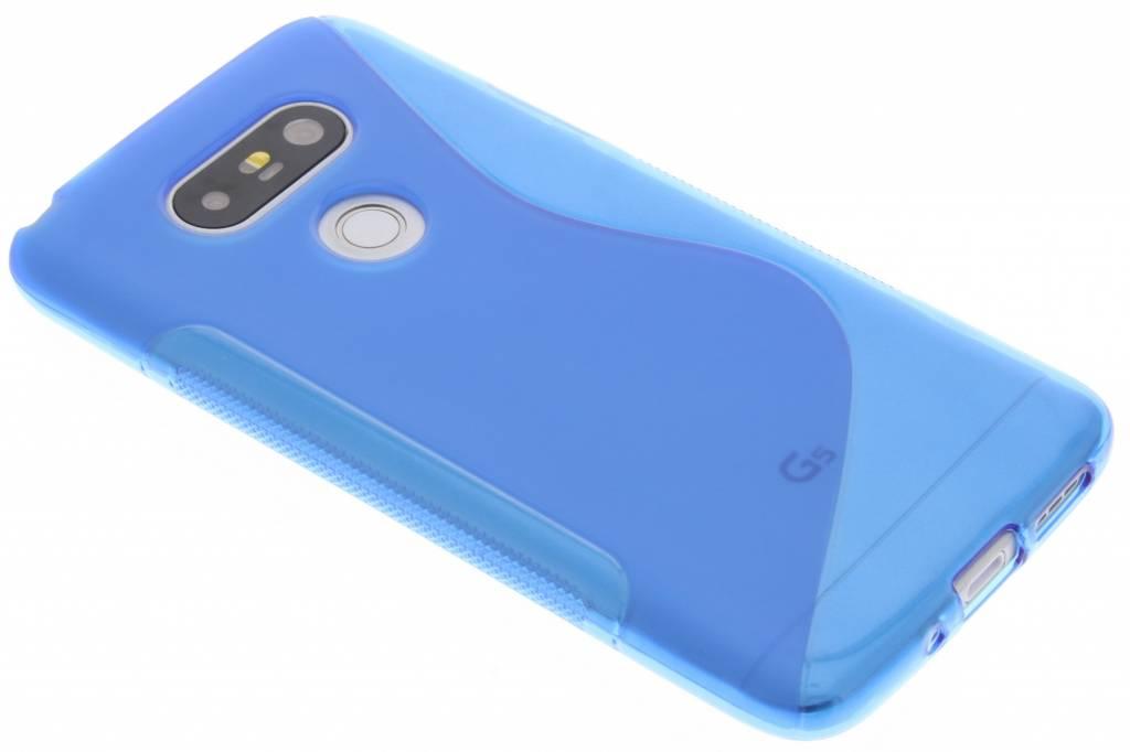 Blauw S-line TPU hoesje voor de LG G5 (SE)