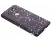 Donkerpaars marmer hardcase hoesje LG G5 (SE)