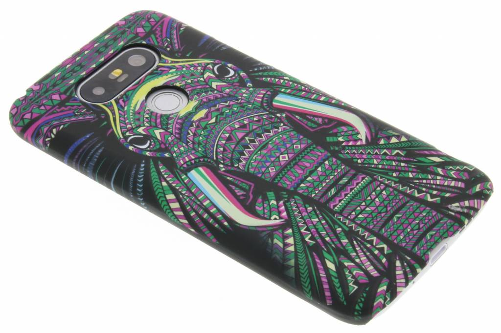 Olifant aztec animal design hardcase hoesje voor de LG G5 (SE)
