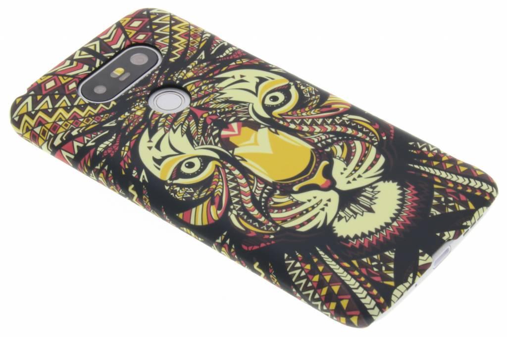Tijger aztec animal design hardcase hoesje voor de LG G5 (SE)