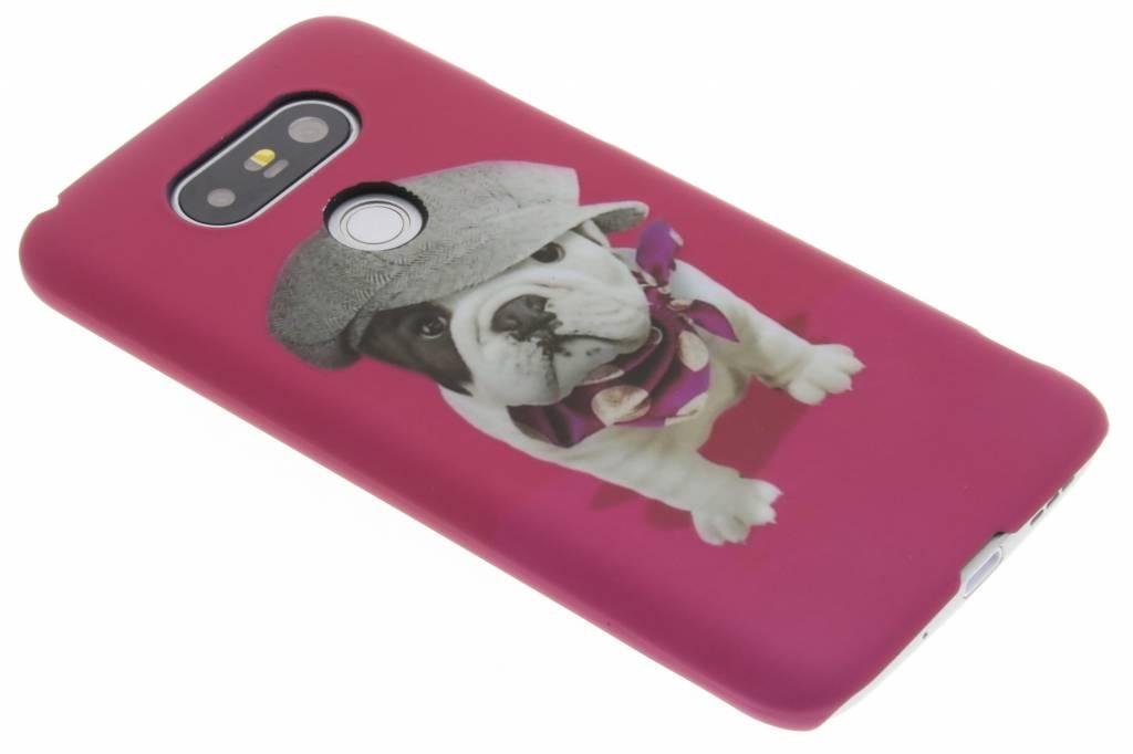 Pug design hardcase hoesje voor de LG G5 (SE)