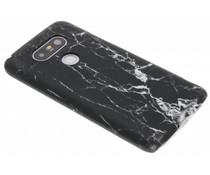Zwart marmer look hardcase hoesje LG G5 (SE)