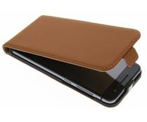 Selencia Luxe Flipcase HTC One A9 - Bruin