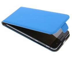 Selencia Luxe Flipcase HTC One A9 - Blauw