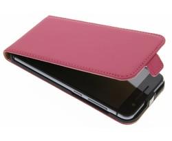 Selencia Luxe Flipcase HTC One A9 - Fuchsia