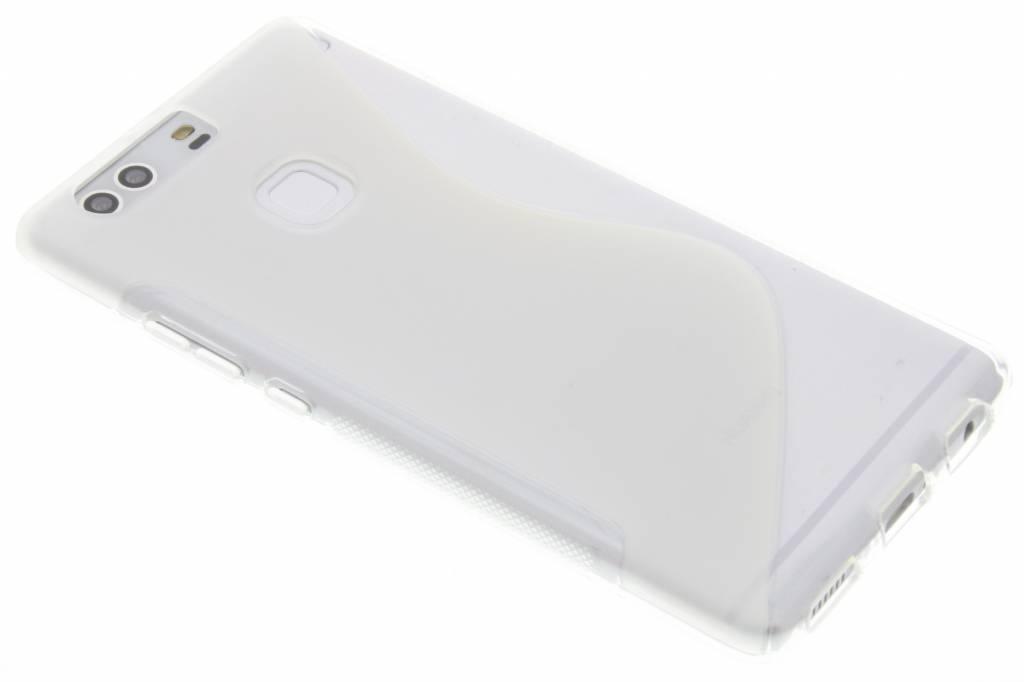 Transparant S-line TPU hoesje voor de Huawei P9 Plus