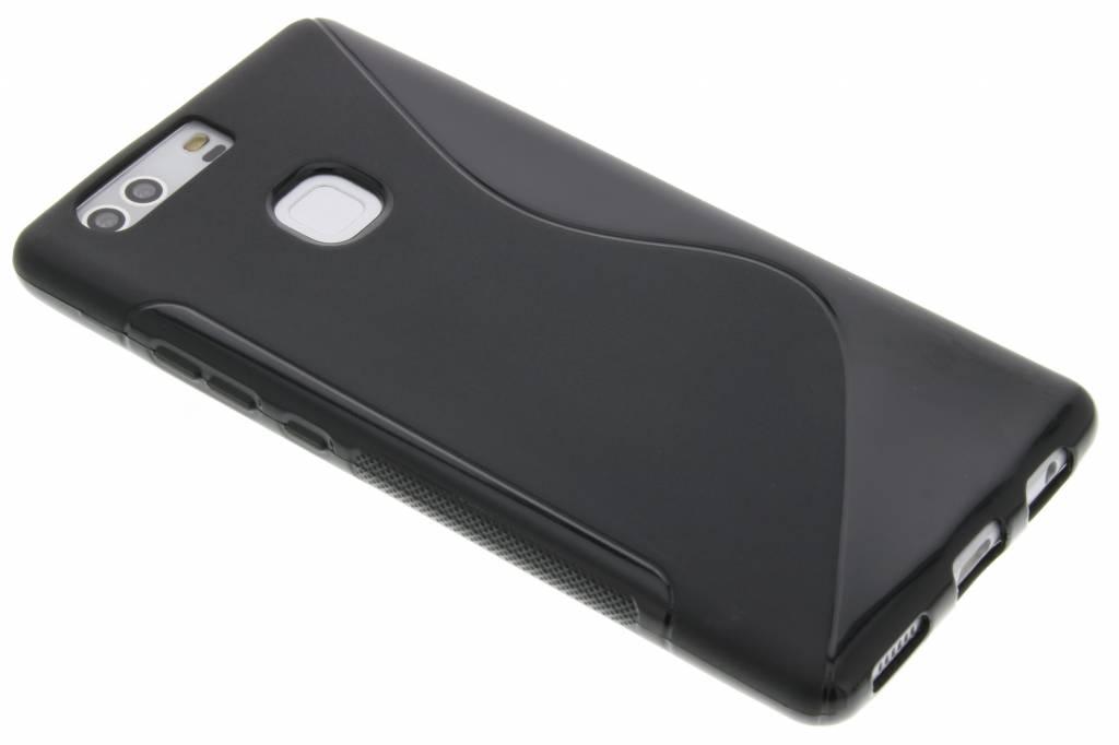 Zwart S-line TPU hoesje voor de Huawei P9 Plus