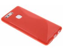 Rood S-line TPU hoesje Huawei P9 Plus