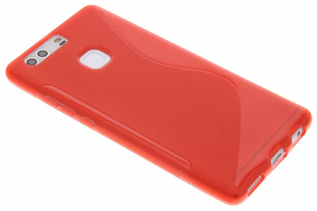 Rood S-line TPU hoesje voor de Huawei P9 Plus
