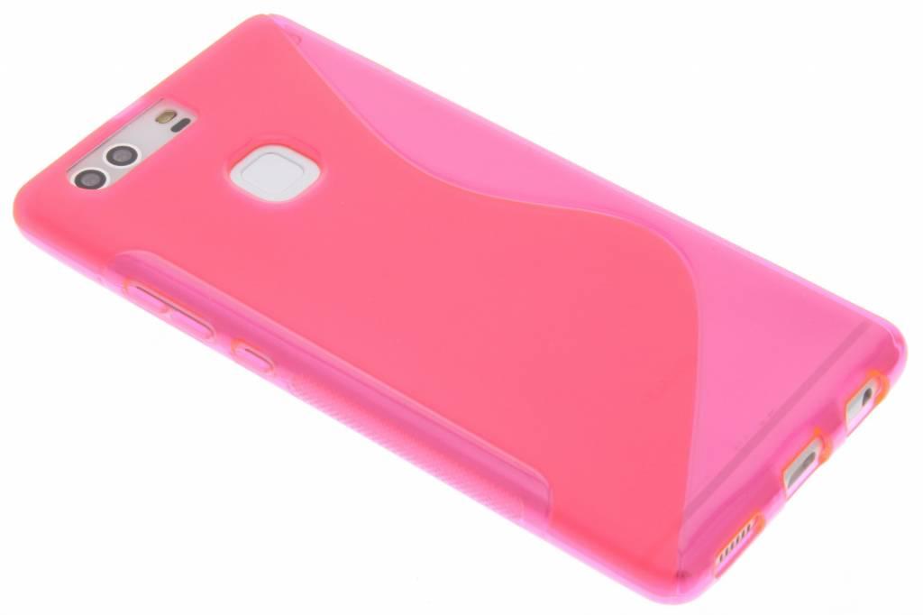 Roze S-line TPU hoesje voor de Huawei P9 Plus