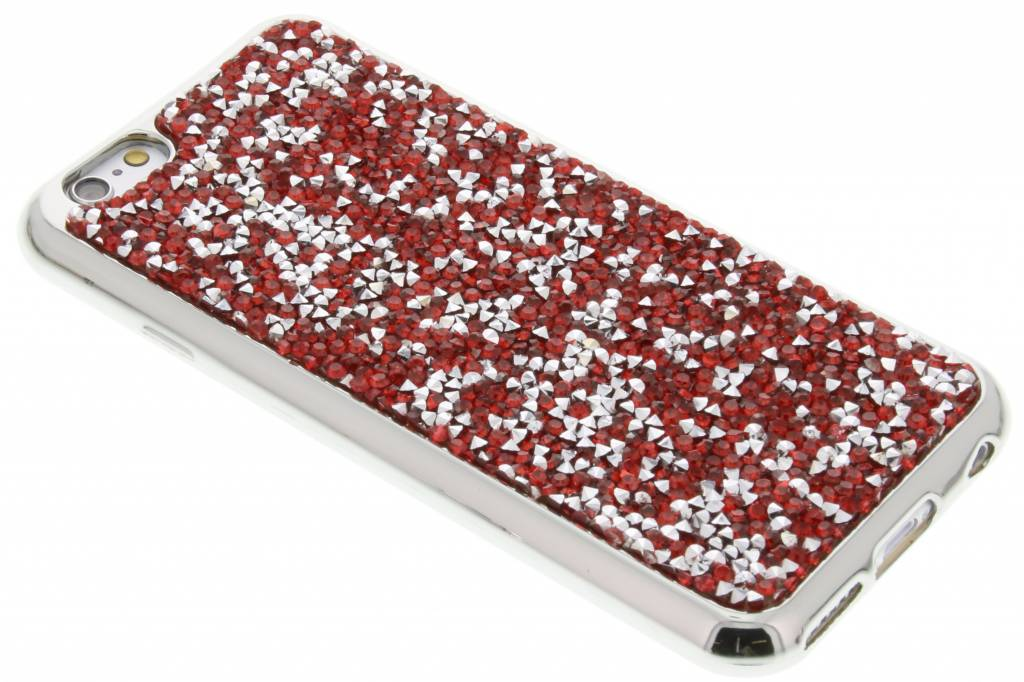 Rood blingbling TPU hoesje voor de iPhone 6 / 6s