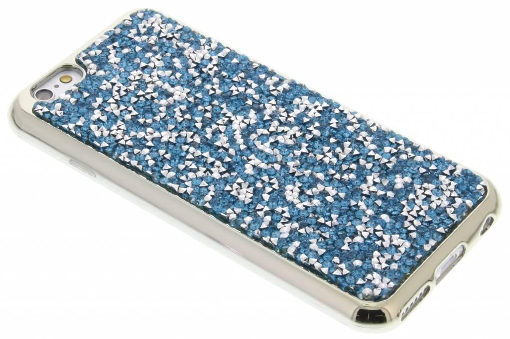 Blauw blingbling TPU hoesje voor de iPhone 6 / 6s