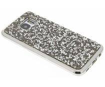 Zilver blingbling TPU hoesje Samsung Galaxy S7 Edge