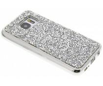 Zilver blingbling TPU hoesje Samsung Galaxy S7