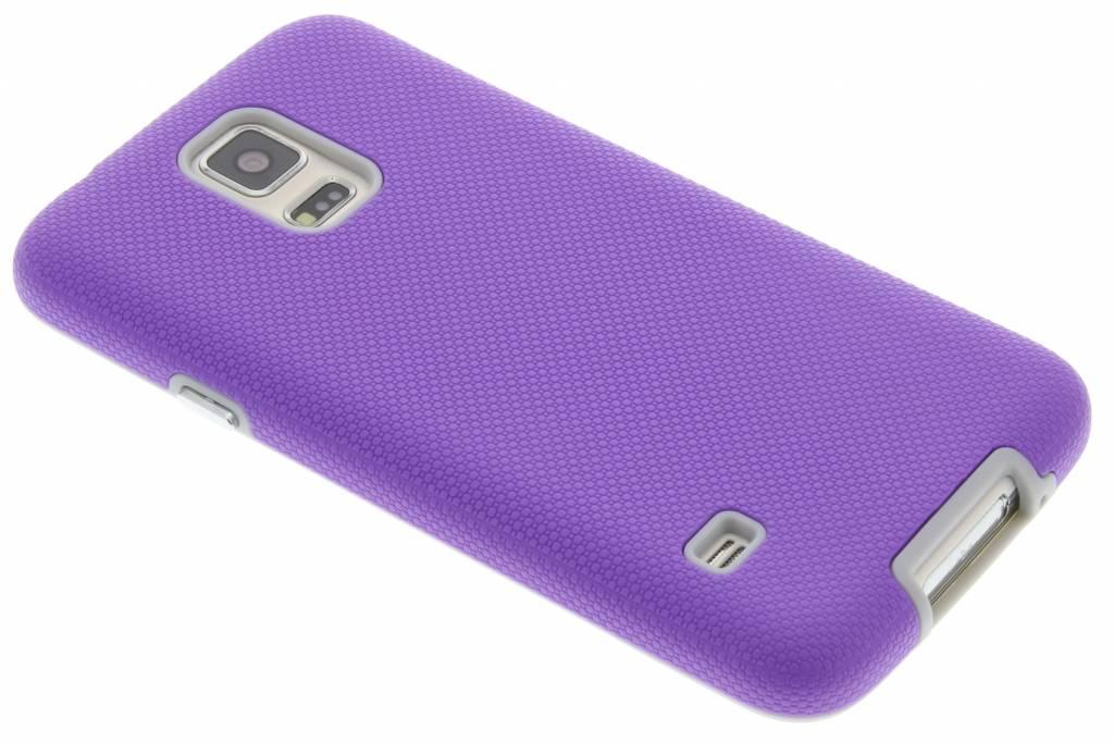 Paarse rugged case voor de Samsung Galaxy S5 (Plus) / Neo