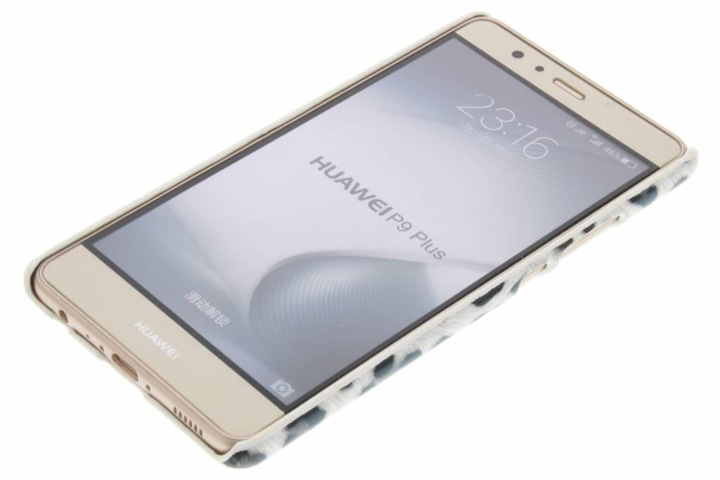Conception Léopard Gris Couverture Étui Rigide Pour P9 Huawei, Plus