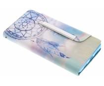 Design TPU Wallet Case Huawei P8 Lite