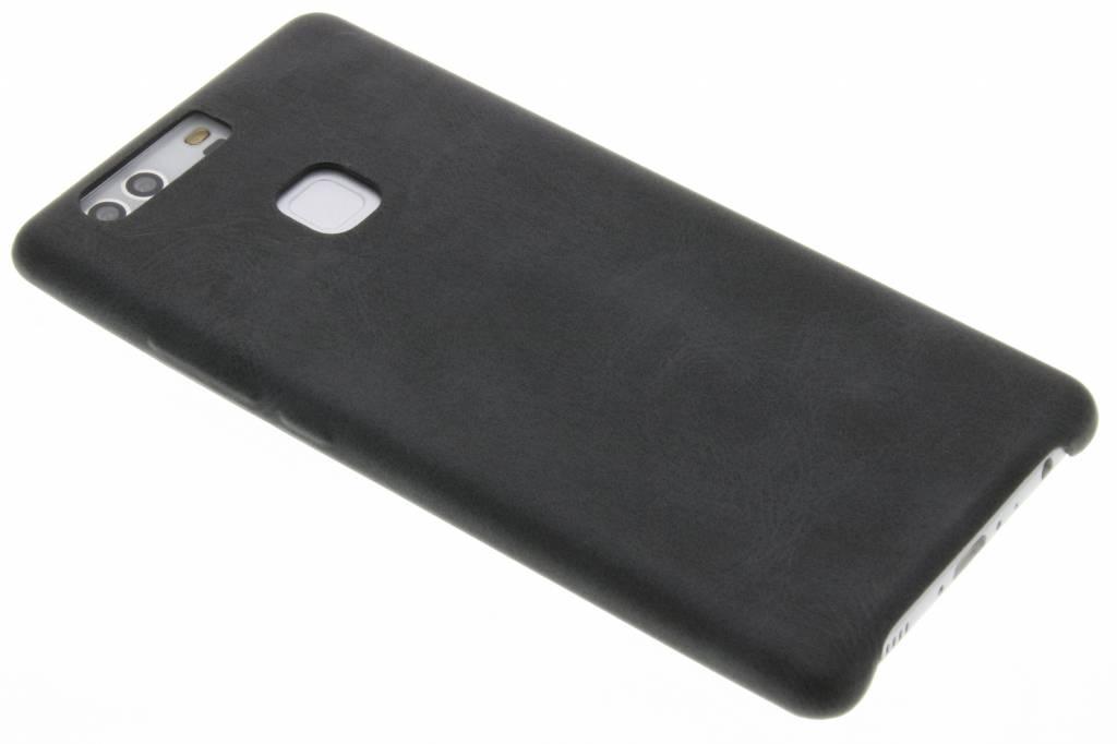Grijze TPU Leather Case voor de Huawei P9 Plus