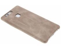 Lichtbruin TPU Leather Case Huawei P9 Plus