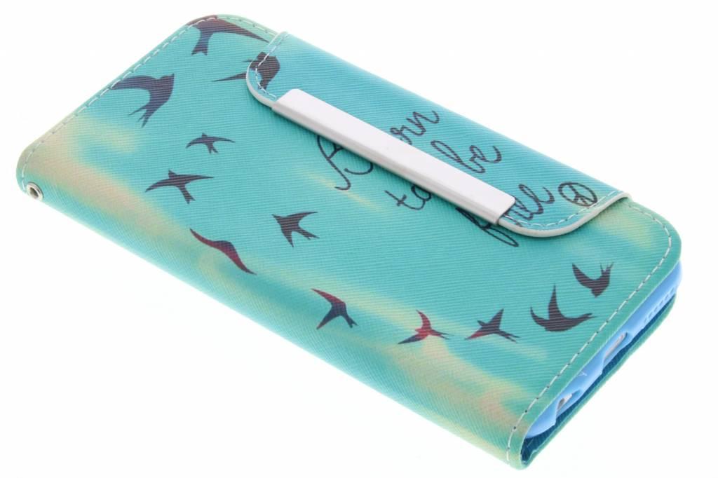Be free design TPU Wallet Case voor de iPhone 6 / 6s