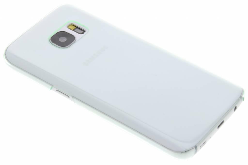 Groene transparant hardcase voor de Samsung Galaxy S7