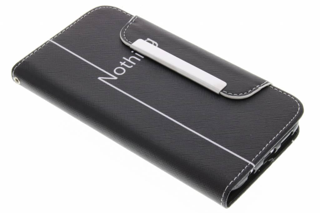 Nothing design TPU Wallet Case voor de Samsung Galaxy S7 Edge