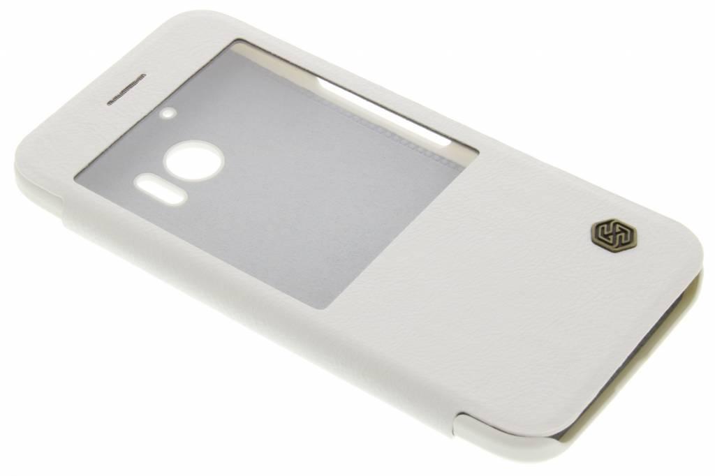 Nillkin Leather Case met venster voor de HTC 10 - Wit