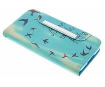 Design TPU Wallet Case Samsung Galaxy S5 Mini