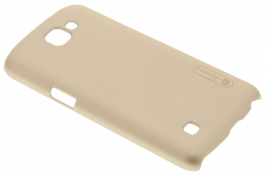 Nillkin Frosted Shield hardcase hoesje voor de LG K4 - Goud