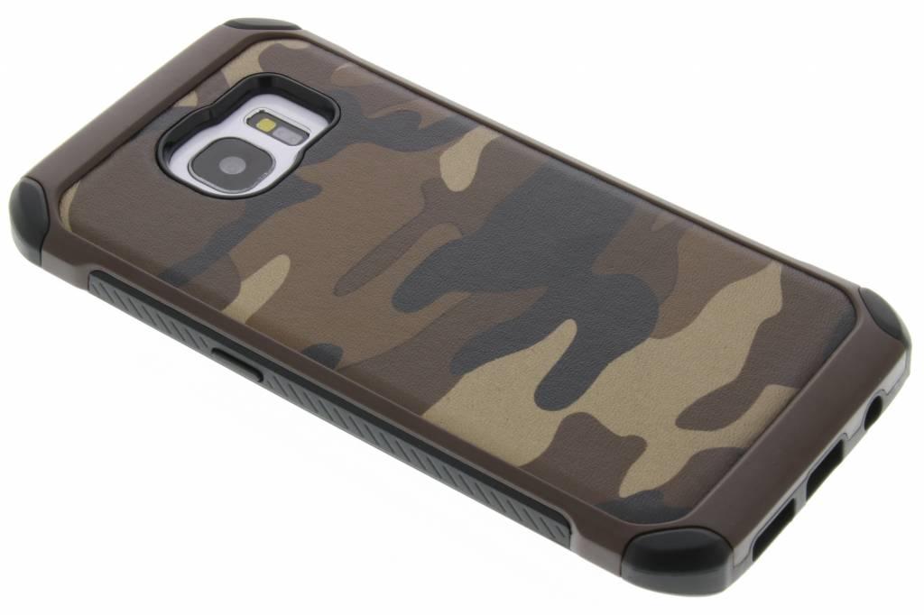 Bruin army defender hardcase hoesje voor de Samsung Galaxy S7 Edge
