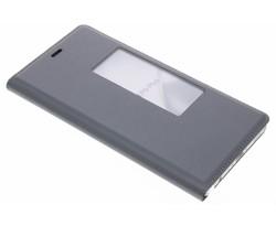 Grijs slim booktype met venster Huawei P9 Plus