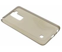 Grijs transparant gel case LG Stylus 2 (Plus)