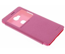 Nillkin Sparkle Window View Case Honor 5X - Fuchsia