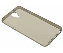 Grijs transparant gel case LG X Screen