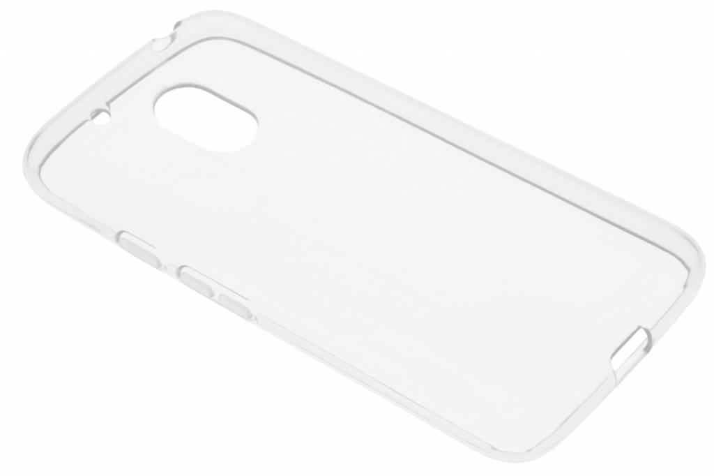 Transparante gel case voor de Motorola Moto G4 Play