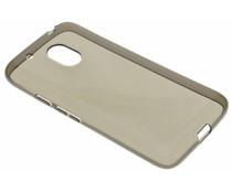Grijs transparant gel case Motorola Moto G4 Play