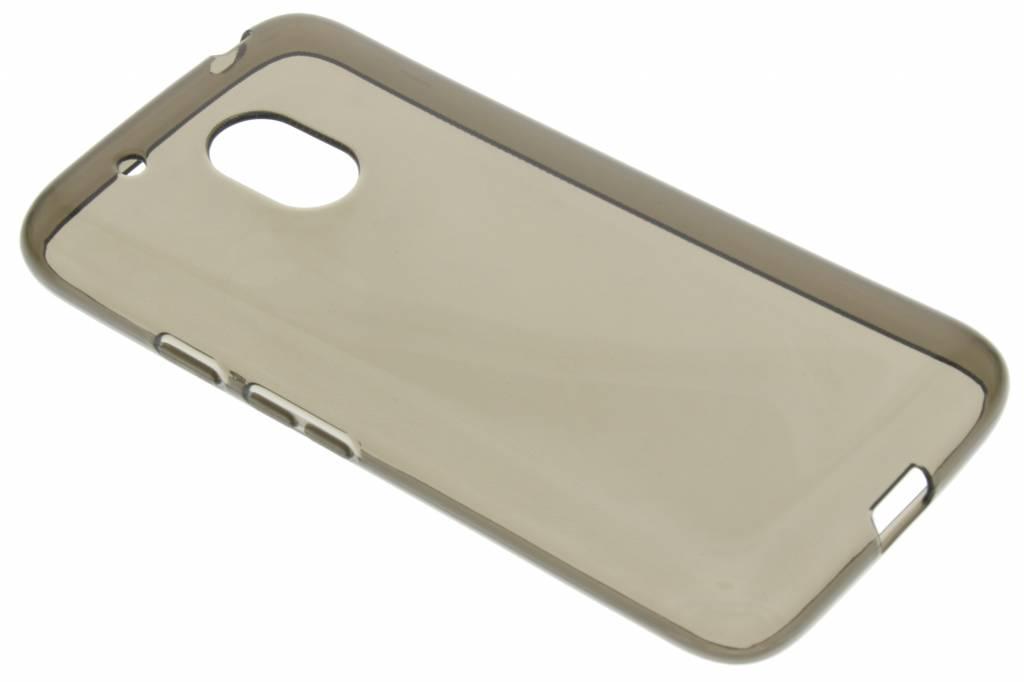 Grijze transparante gel case voor de Motorola Moto G4 Play