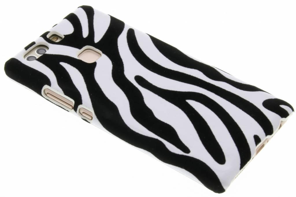 Zebra flock design hardcase hoesje voor de Huawei P9 Plus