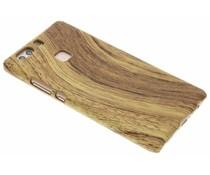 Licht hout design hardcase hoesje Huawei P9 Plus