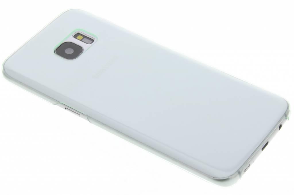 Groene transparante hardcase voor de Samsung Galaxy S7 Edge