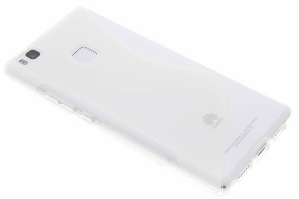 Transparant S-line TPU hoesje voor de Huawei P9 Lite
