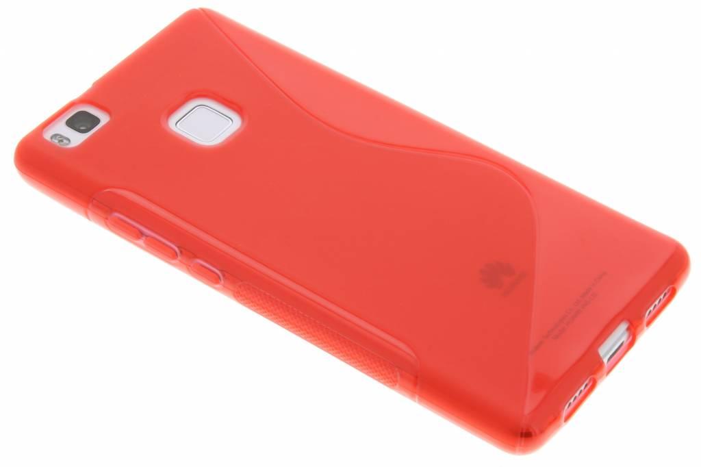 Rood S-line TPU hoesje voor de Huawei P9 Lite