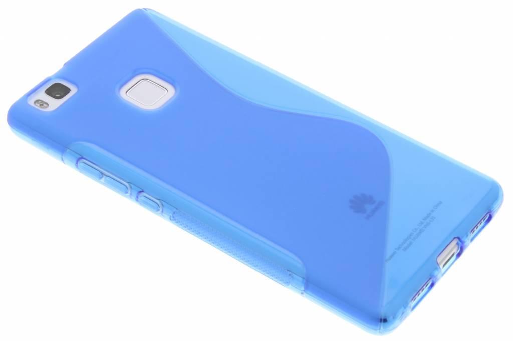 Blauw S-line TPU hoesje voor de Huawei P9 Lite