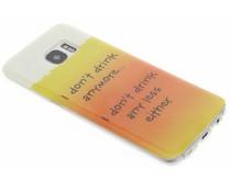 Design TPU siliconen hoesje Galaxy S7 Edge